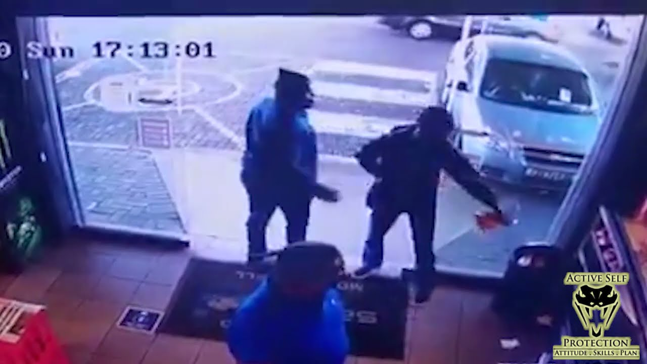 South African Armed Robbery Teaches Us Lessons