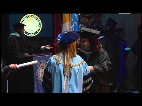2015 Commencement: School of New Resources Conferring of Degrees