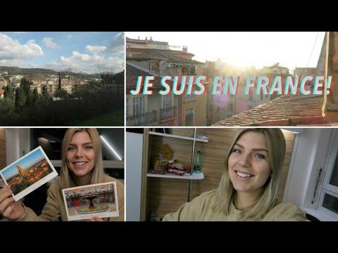 JE SUIS EN FRANCE! Arrival in Europe & Dorm Room Tour (Study Abroad)