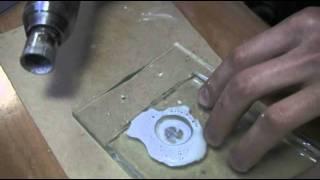 видео Сверление стекла
