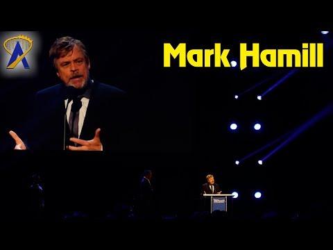 Mark Hamill receives Disney Legend award at D23 Expo 2017