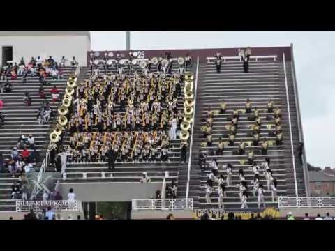 UAPB Marching Band - The Hills - 2015
