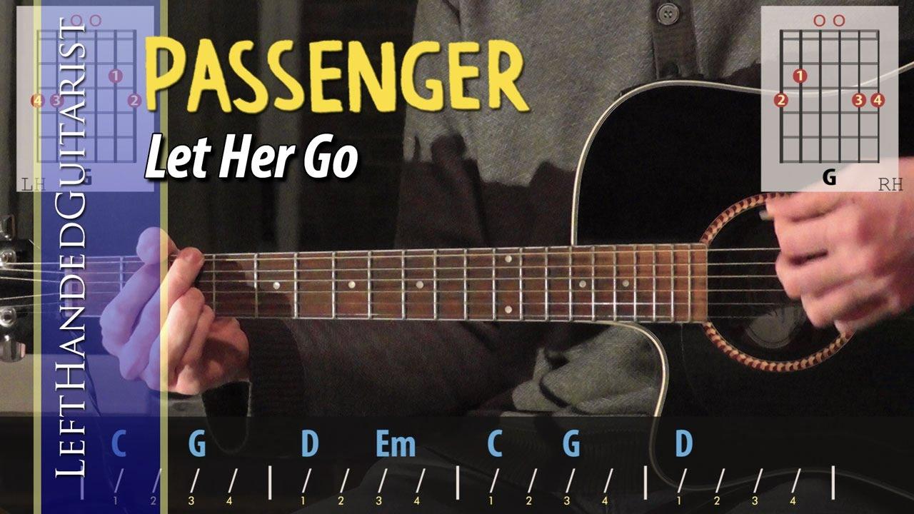 Passenger Let Her Go Guitar Lesson Youtube