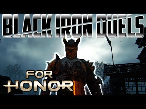 [For Honor] Warden Black Iron Duels