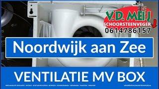 mechanische ventilatie reinigen Noordwijk | 0614786157 Van der Meij MV box reinigen