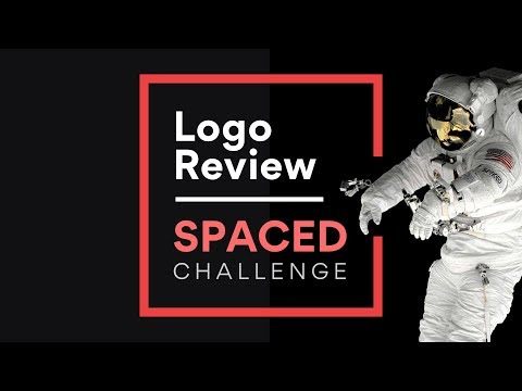 Logo Design Review for Spaced Challenge
