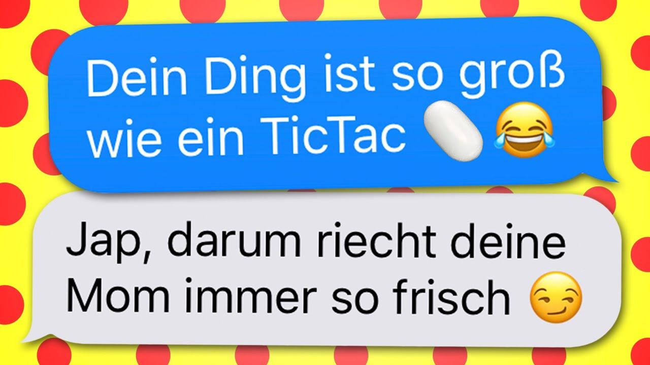 55 lustige WhatsApp CHATS zum LACHEN!