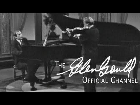 Glenn Gould & Yehudi Menuhin - Beethoven, Sonata No. 10 In G Major Op. 96 - Part 2 (OFFICIAL)