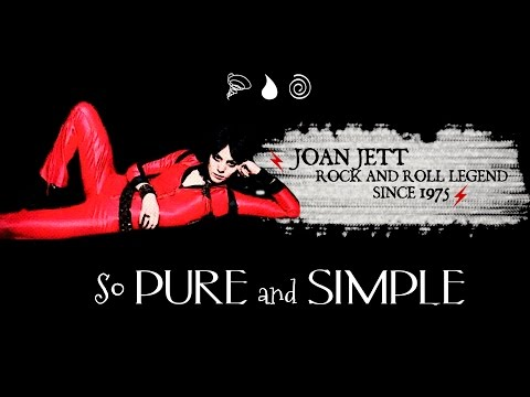Joan Jett is Rock and Roll: So Pure and Simple