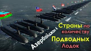 Страны по Количеству Подводных Лодок 2021
