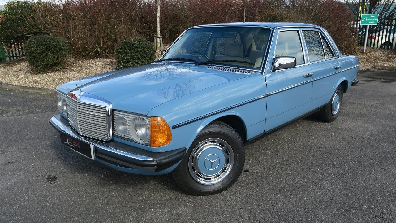 Sold 1982 mercedes 200 w123 in china blue for sale in for Mercedes benz w123 for sale