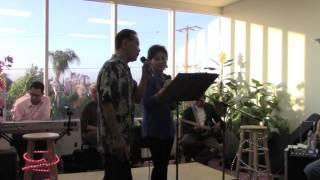 """Duo Lý Thúy in song """" Nếu một mai anh biệt kinh kỳ """" 05-22-16."""
