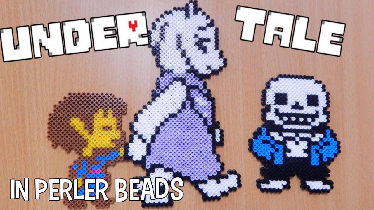 Perler Beads Creations Undertale Youtube