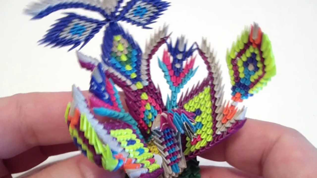 3D Mini Peacock Fantasy 6MP4