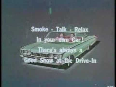 Drive In Movie Ads From The 50 S And 60 S Youtube