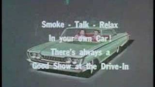 Drive-In Movie Ads From The 50s And 60s