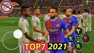TOP 7 BEST OFFLINE FOOTBALL GAMES FOR ANDROID & IOS 2021|Download Best Offline Soccer Games [4K] screenshot 3