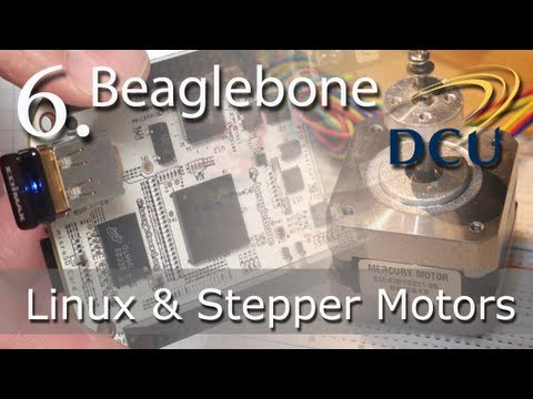 Beaglebone: Driving Stepper Motors in Embedded Linux using t