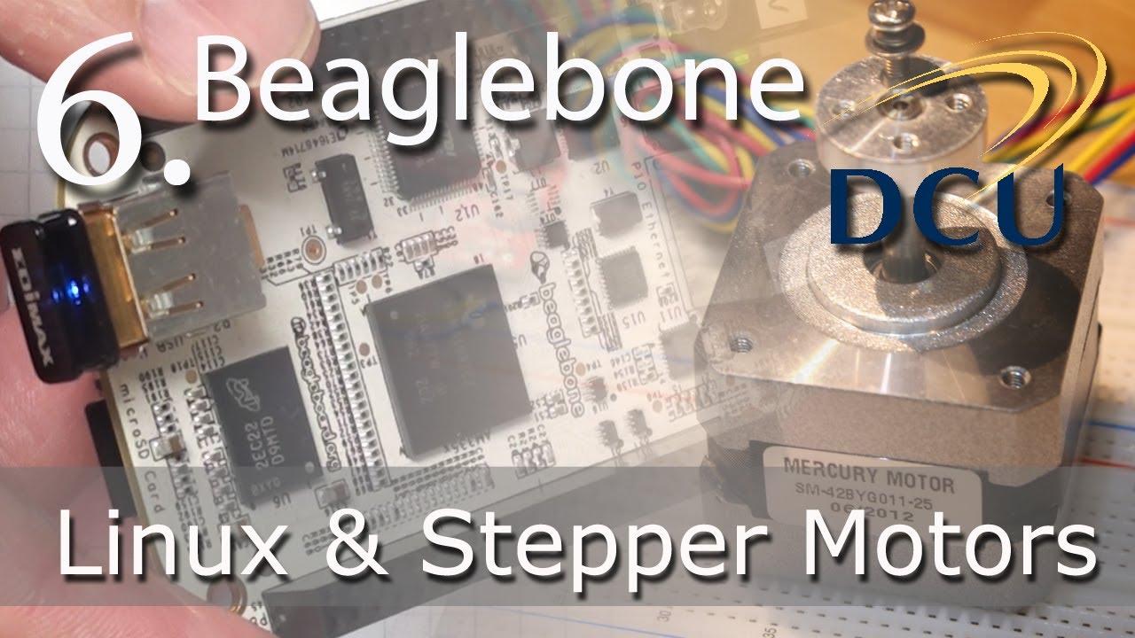 Beaglebone: Driving Stepper Motors in Embedded Linux using the EasyDriver  Board