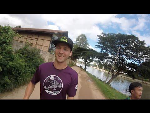 Running in Loikaw, Myanmar
