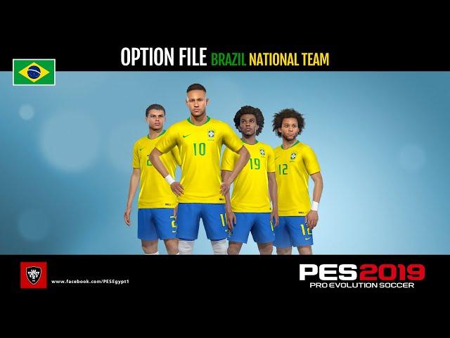 حل مشكلة فريق البرازيل فى بيس 2019 بلايستيشن 4 - Fix the