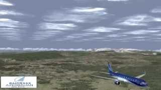 Azerbaijan Airlines B767 Landing Baku Heydar Aliyev intl*UBBB*