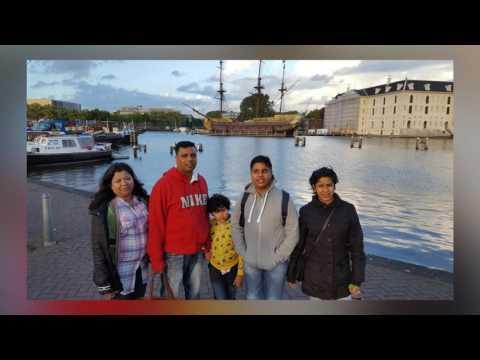 Kamran and Family Trip Amsterdam