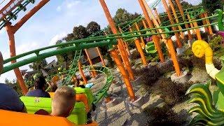Energuś Roller Coaster On Ride POV - Energylandia