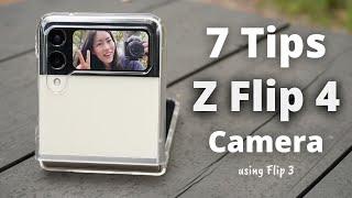 Samsung Galaxy Z FLIP 3 | 7 CAMERA Tips and Tricks 📸