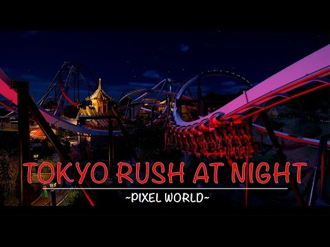 Planet Coaster: Tokyo Rush At Night [Inverted Coaster]