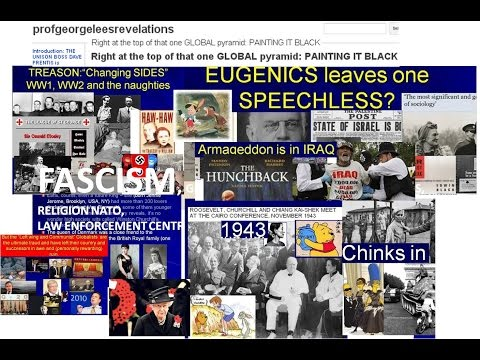 Fascism, Eugenics, Profiteering 1914  2009 when I came home to fix it
