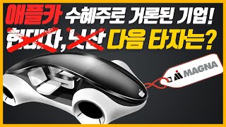애플 전기차 수혜주로 거론된 기업! LG전자와 협업과 …
