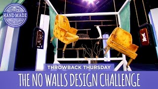 The No Walls Challenge on the White Room Challenge - Throwback Thursday - HGTV Handmade
