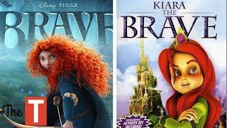 10 Animated Movies That COPIED Disney