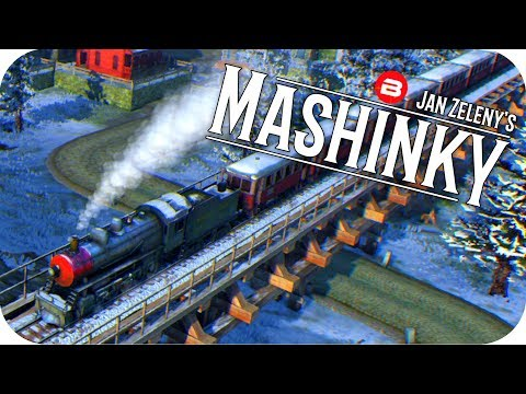 MASHINKY Gameplay - SIGNAL WORK & IRON FOUNDRY - Tycoon Trai