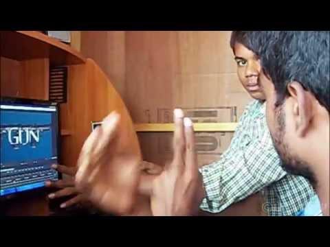 Making of GUN a shortfilm by Shiva krishna...