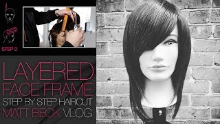 FACE FRAME HAIRCUT ON LONG HAIR STEP BY STEP | MATT BECK VLOG #016