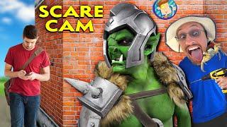 ORC Scare Cam & Door Lock Prank (FV Family Random Vlog w/ Lexi 14th Bday)