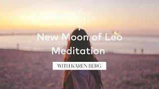 Leo Meditation with Karen Berg