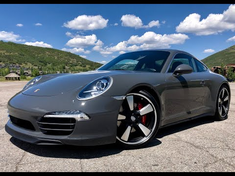 2014 PORSCHE 911 CARRERA S 50th ANNIVERSARY EDITION #705 OF 1,963 MANUAL 16K MILES 430HP - FOR SALE