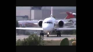 Rullaggio e decollo aereo Volotea - Aeroporto Costa Smeralda, Olbia - 09/2016
