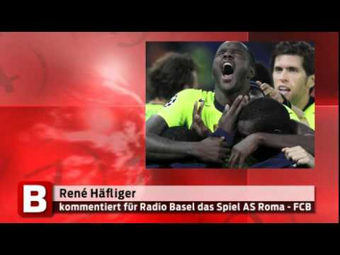 René Häfliger -- AS Roma - FC Basel -- Radio Basilisk Live
