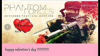 Roblox Phantom Forces [Valentines Day Update neue Waffe