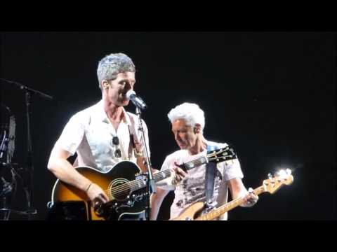 U2 & Noel Gallagher Don't Look Back In Anger (HD Multicam) The Joshua Tree Tour 2017