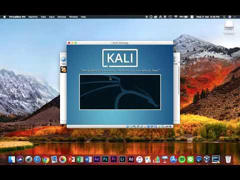 Run kali linux on mac virtualbox
