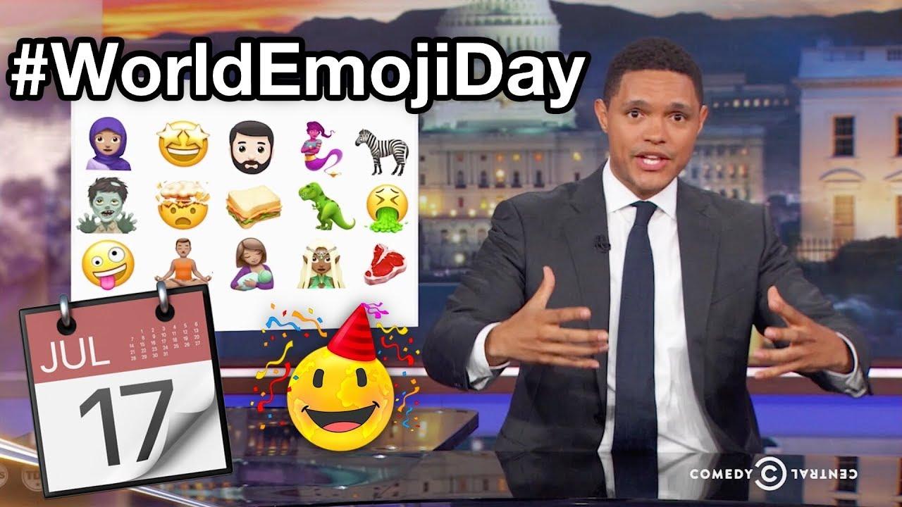 World Emoji Day 🙋😍👾🐝👻💙😜
