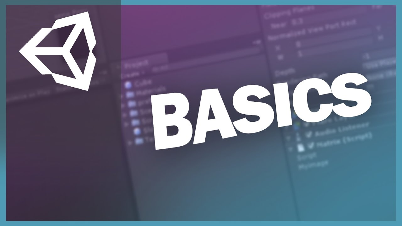 Unity 3d Tutorials - Basics - #4 The Menu Bar
