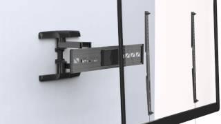 Loctek PSW791AT Full Motion Mega TV Wall Mount Bracket 47-90 Inch