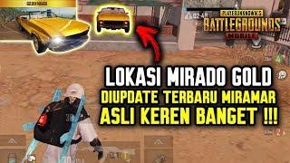LOKASI MIRADO GOLD DI UPDATE TERBARU MIRAMAR ?! ASLI KEREN PARAH !!! - PUBG MOBILE INDONESIA