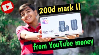 200d Mark II unboxing and review. Canon 200d Mark II. canon 200d mark ii Video and photo samples.